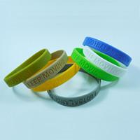 万博客户端手环,运动手环,纯色手环