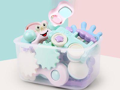 婴幼儿万博客户端玩具大礼包